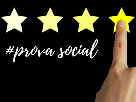 Como escrever uma Prova Social