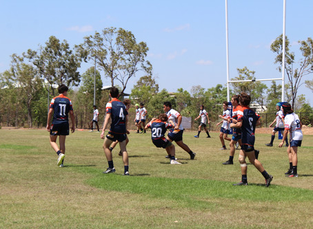 Saints 1sts Team win the NRL NT u15s Gala Day in Style