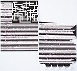 """Mind Control Crossword"", ink on paper, 2019"