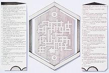"""Education Crossword"", ink on paper, 2019"