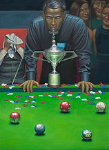 trophy snooker