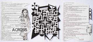 """Culture Crossword"", ink on paper, 2019"