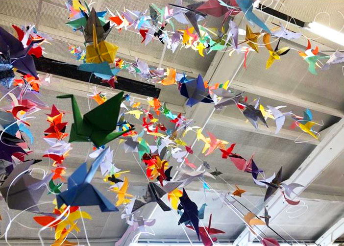 'Birds' created by students of Frome College