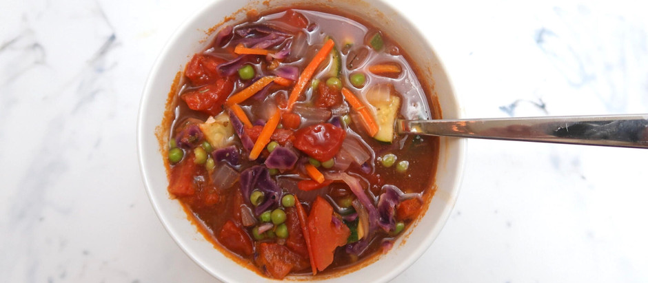 Perfect Fall Vegetable Soup
