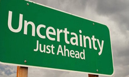 Opinion #1 - Uncertainty Ahead...
