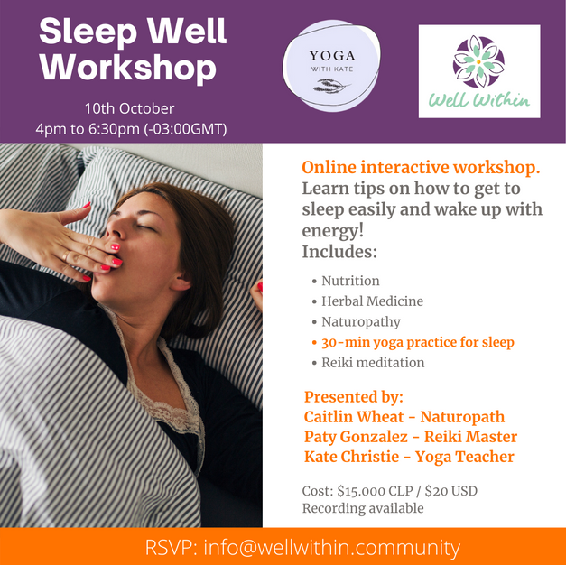 Sleep Well Workshop