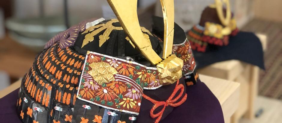 奈良一刀彫り兜