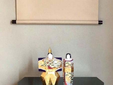 立雛(奈良一刀彫り)