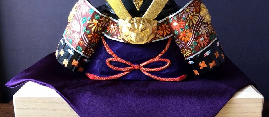 奈良一刀彫り「兜」