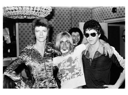 Bowie, Iggy & Lou Reed
