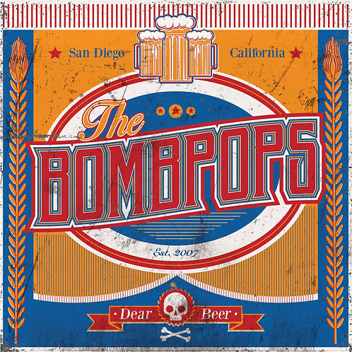 "The Bombpops ‐ Dear Beer (7"")"