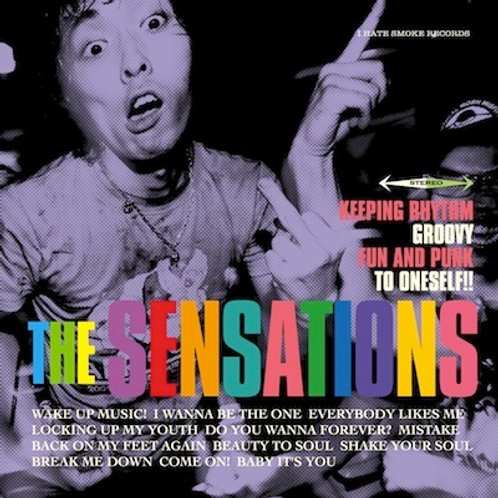 The Sensations - Keeping Rhythm Groovy Fun and Punk To Oneself (CD)