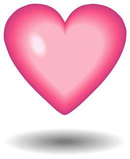 (1)幼稚園の実践発表 子供たちのピンクのハート