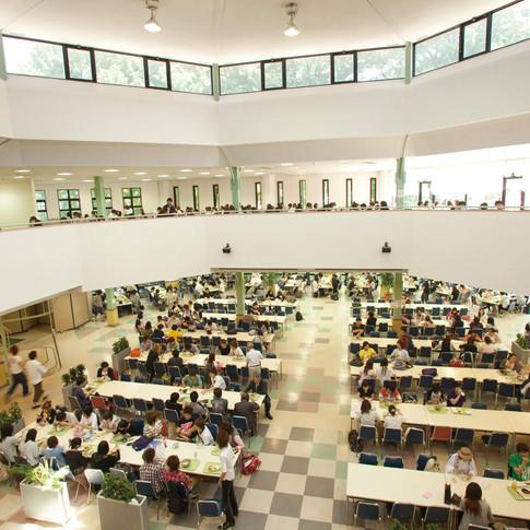 "Student Hall Dining Room ""Hiiragi"""