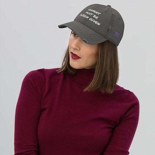 Distressed Hat EXPLICIT