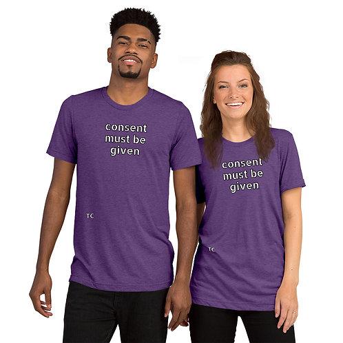 Short sleeve t-shirt CLEAN-PURPLE