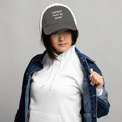 Distressed Hat CLEAN