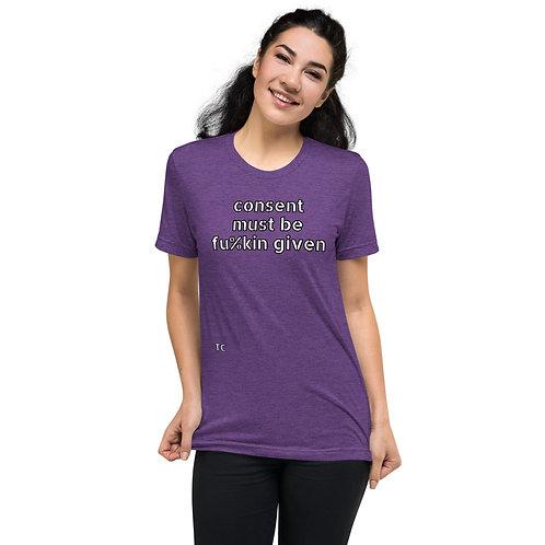 Short sleeve t-shirt EXPLICIT- PURPLE