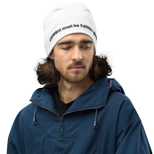 All-Over Print Beanie EXPLICIT