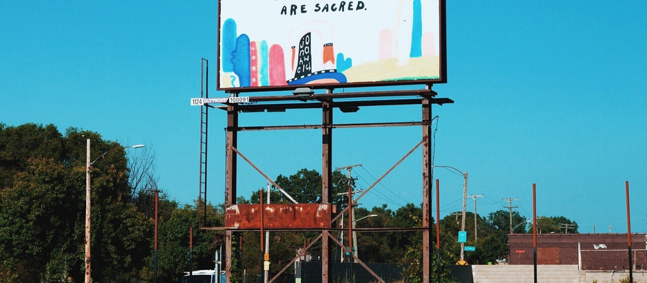 Trans People are Sacred Billboard Campaign