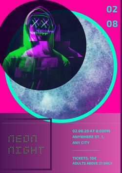 Partyflyer_Neon Night