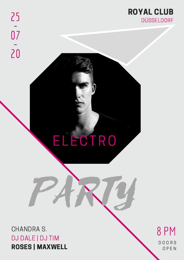 Partyflyer_Electro