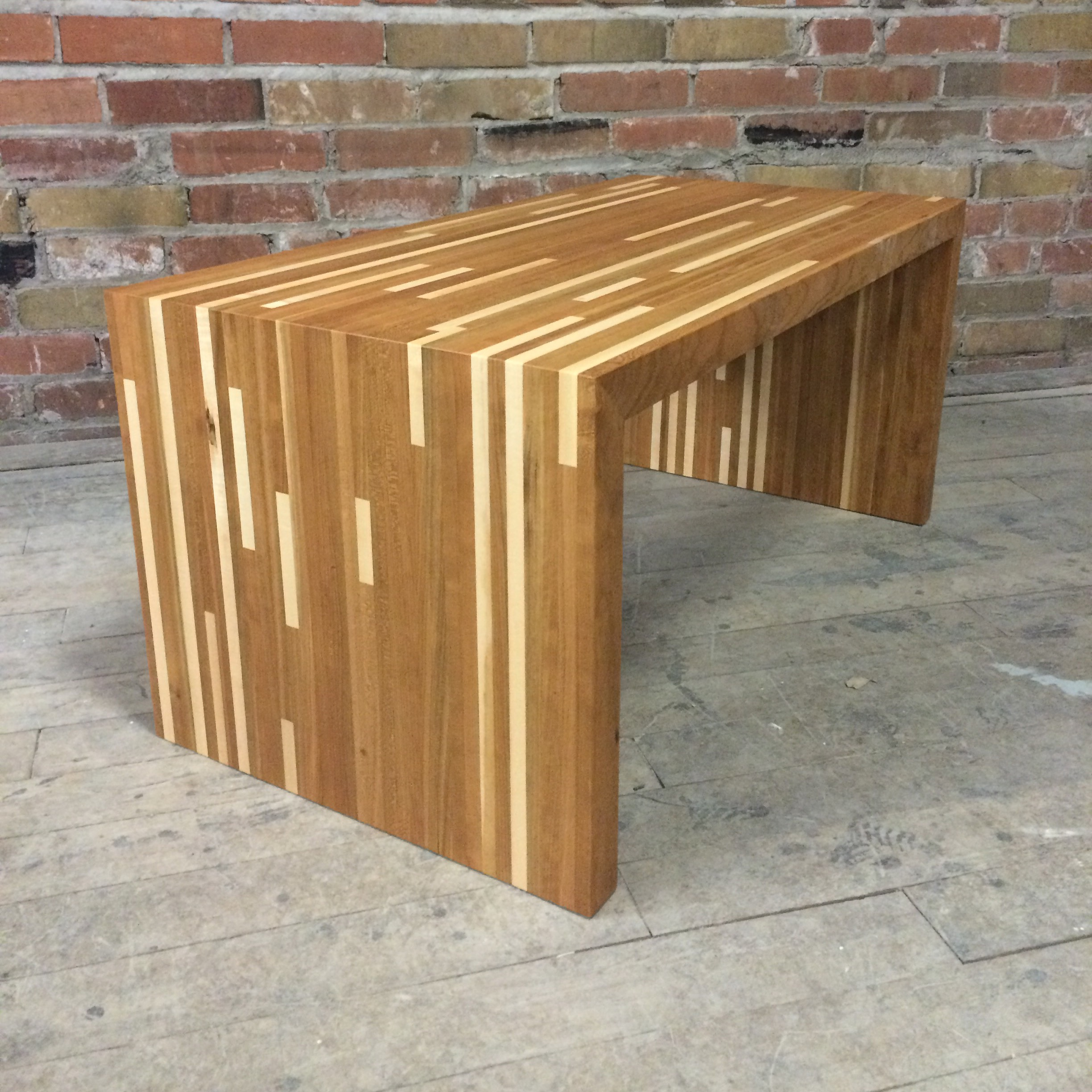 Cherry and Maple Matrix Coffee Table