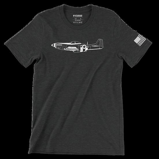Warbird P-51 Mustang T-Shirt