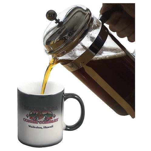 11 oz. Black/White Color Changing Sublimatable Ceramic Mug