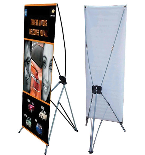 """24"""" x 63"""" X Stand Banner"""
