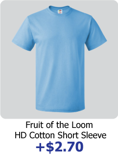 custom fruit of the loom shirt