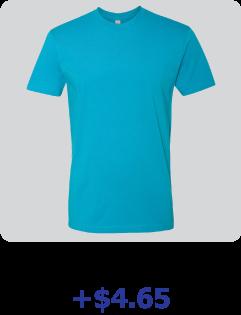 custom next level shirt