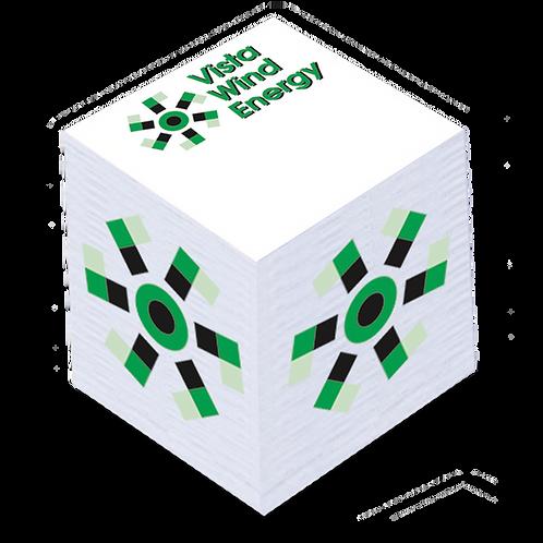 "Adhesive Cube - 2 1/8"" x 2 1/8"" x 2"""