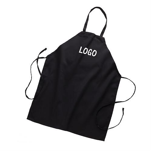 Wide Bib Butcher Apron with Logo