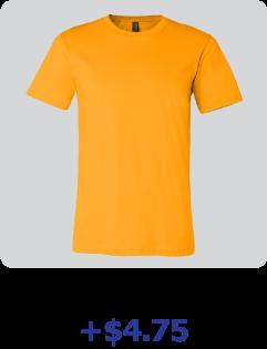 custom bella + canvas shirt