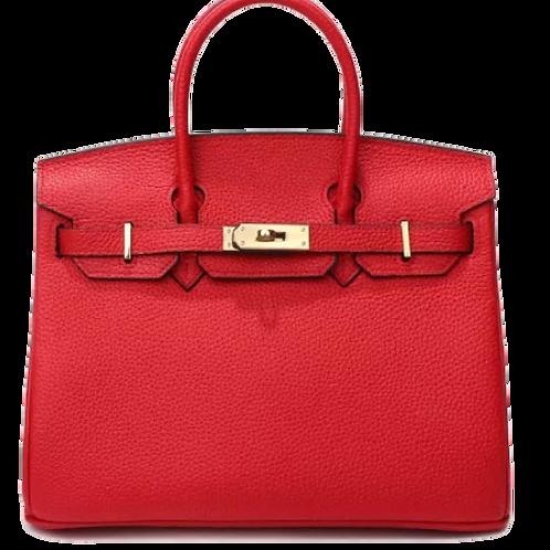Limena Handbag - Red