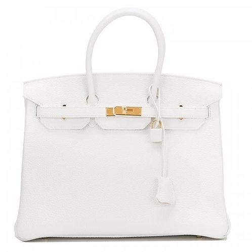Limena Handbag - White