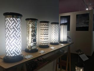 リニューアルオープンした匠大塚春日部本店1Fフロアで籠染灯籠の展示販売が始まりました!