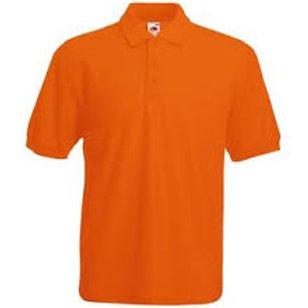 Adult Polo Shirt Orange