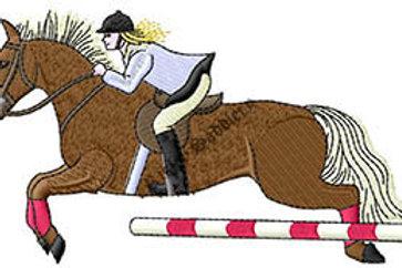 Jumping Horse #147