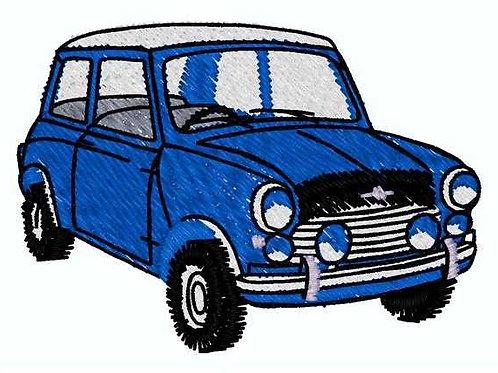 Blue Car #248