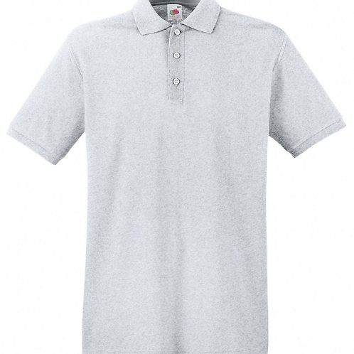 Adult Polo Shirt Grey