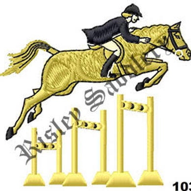 Jumping Horse #103