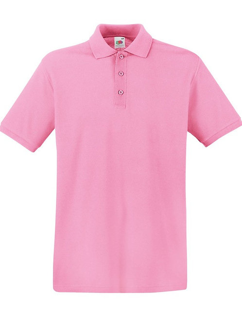 Adult Polo Shirt Pink