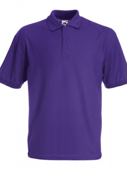 Adult Polo Shirt Purple