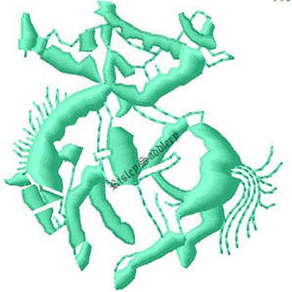 Rodeo Horse Logo #118