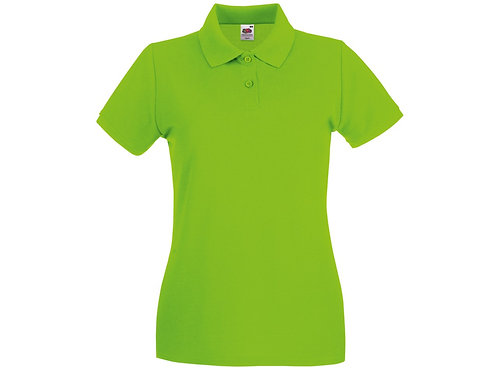 Adult Polo Shirt Lime Green