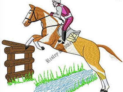 Jumping Horse #133