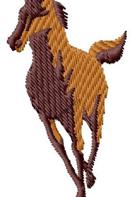 Running Horse #108