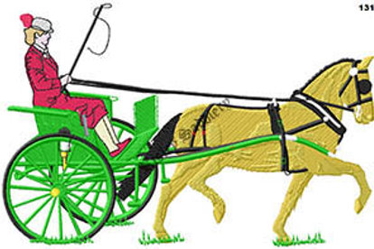 Driving Horse #131